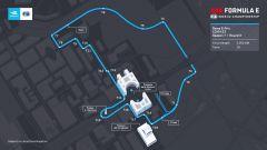 Formula E, E-Prix Roma 2021: il nuovo layout del circuito dell'EUR