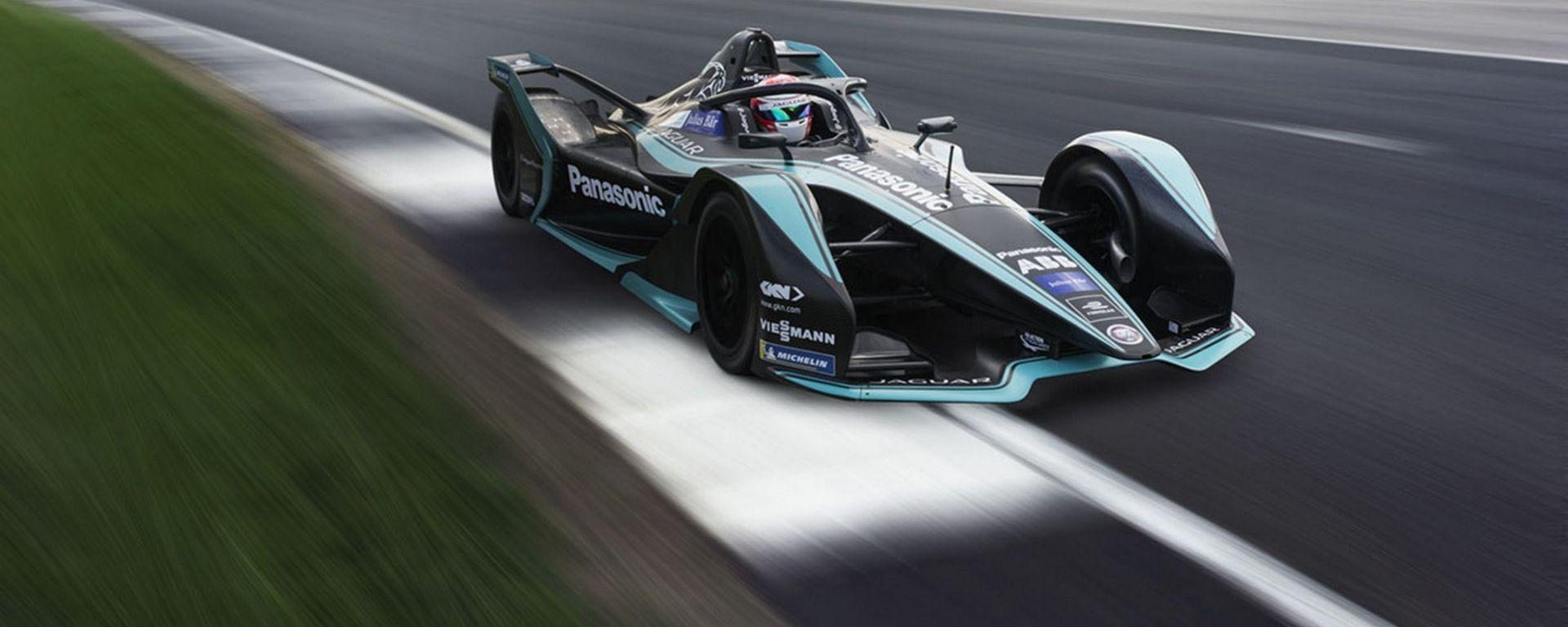 Formula E: ecco la nuova Jaguar Racing I-TYPE 3 per il mondiale elettrico