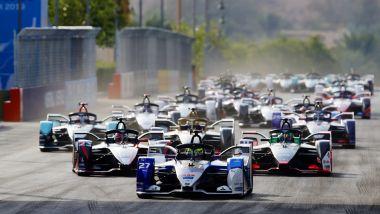Formula E, ePrix Ad Diriyah 2019: la partenza della gara