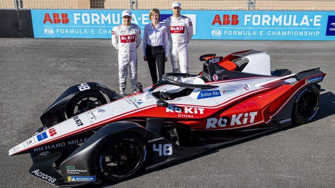 Formula E, ePrix Ad Diriyah 2019: Massa, Wolff e Mortara presentano la livrea Venturi Racing