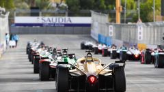 Formula E ePrix Ad Diriyah 2020: la partenza della gara della passata stagione
