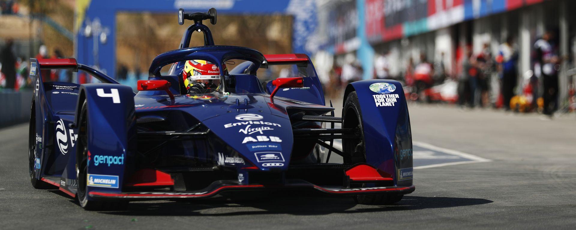 Formula E ePrix Ad Diriyah 2021: il poleman di Gara-2, Robin Frijns (Envision Virgin Racing)