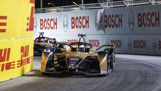 Formula E ePrix Ad Diriyah 2021: la lotta tra Antonio Felix Da Costa e Jean-Eric Vergne (Ds Techeetah)