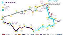 Formula E ePrix Ad Diriyah 2021: la mappa del circuito