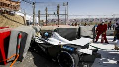 Formula E ePrix Ad Diriyah 2021: l'incidente nelle PL3 di Edoardo Mortara (ROKit Venturi Racing)