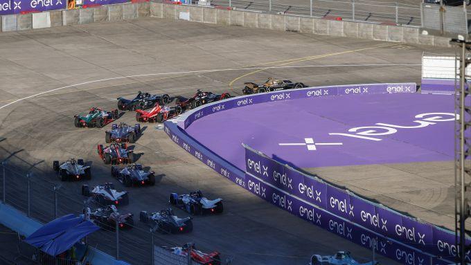 Formula E ePrix Berlino-2 2020: la partenza di gara-2