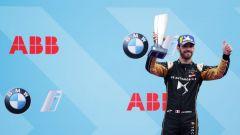 Formula E ePrix Berlino 2019, Jev festeggia sul podio