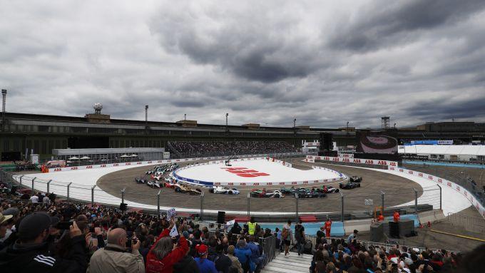 Formula E, ePrix Berlino 2019: la partenza della gara