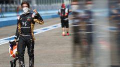 Formula E ePrix Berlino 2020: Antonio Felix Da Costa (DS Techeetah) esulta dopo la pole position