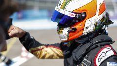 Formula E ePrix Berlino 2020: Antonio Felix Da Costa (Ds Techeetah) festeggia la pole position