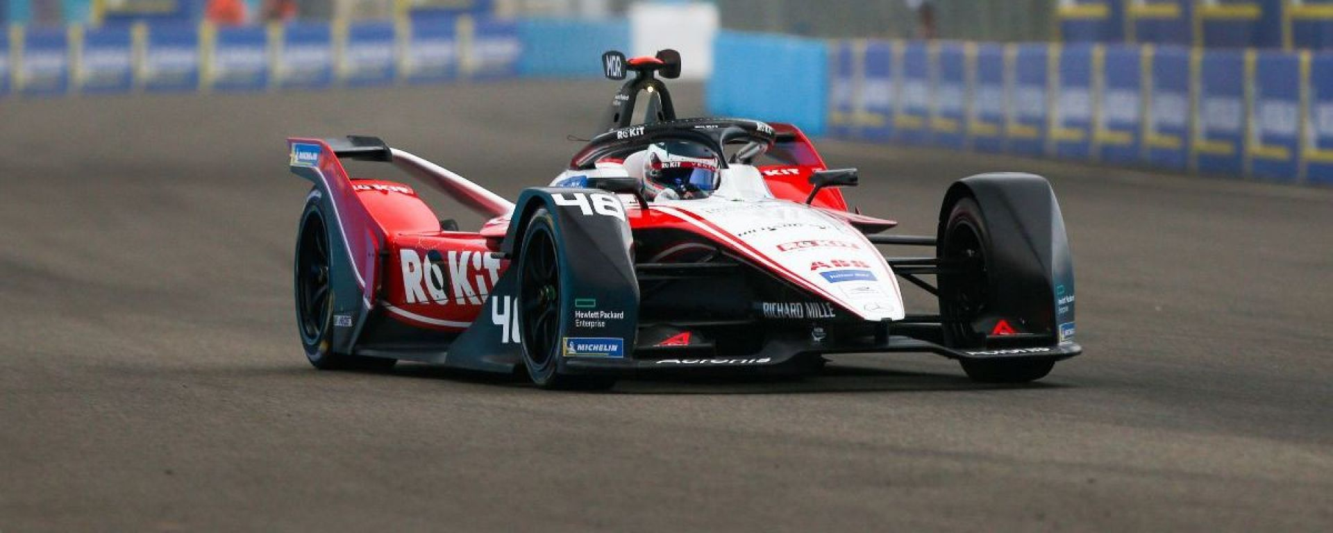 Formula E, ePrix Berlino 2020: Edoardo Mortara (Venturi Racing) in pista