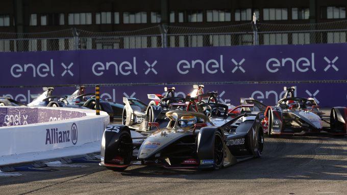 Formula E ePrix Berlino 2020: la partenza della gara