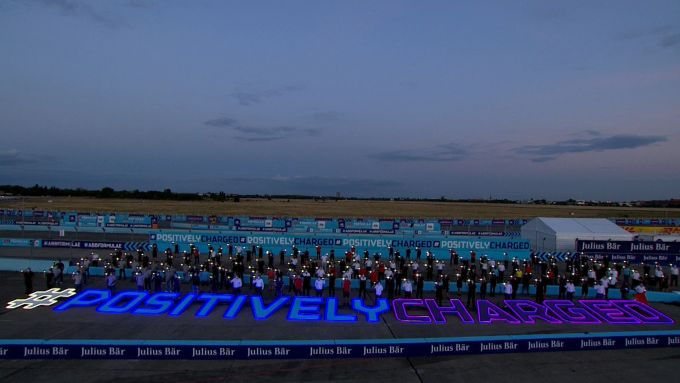 Formula E ePrix Berlino 2020: l'hashtag #PositivelyCharged