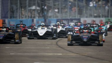 Formula E ePrix Berlino 2021, Tempelhof: la partenza della gara