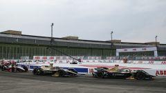 Formula E ePrix Berlino-4 2020: Jean-Eric Vergne e Antonio Felix Da Costa (Ds Techeetah) in pista