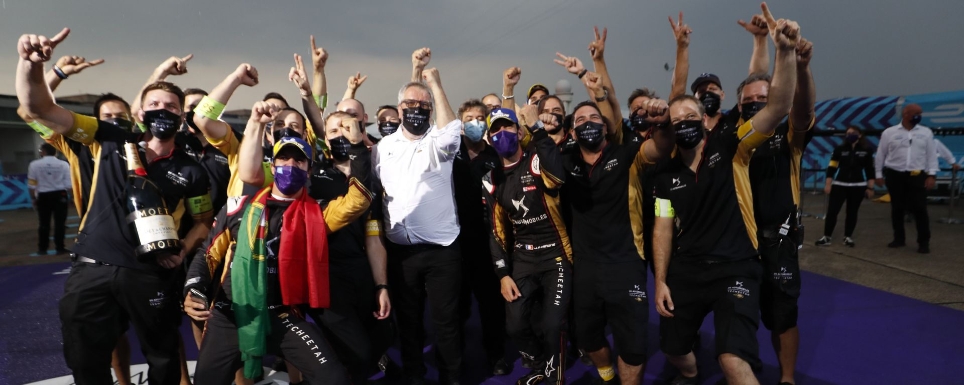 Formula E ePrix Berlino-4 2020: la festa in casa DS Techeetah