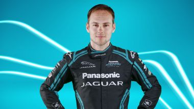 Formula E ePrix Berlino-4 2020: Tom Blomqvist (Jaguar Racing)