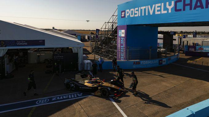 Formula E ePrix Berlino-5 2020: Jean-Eric Vergne (DS Techeetah)
