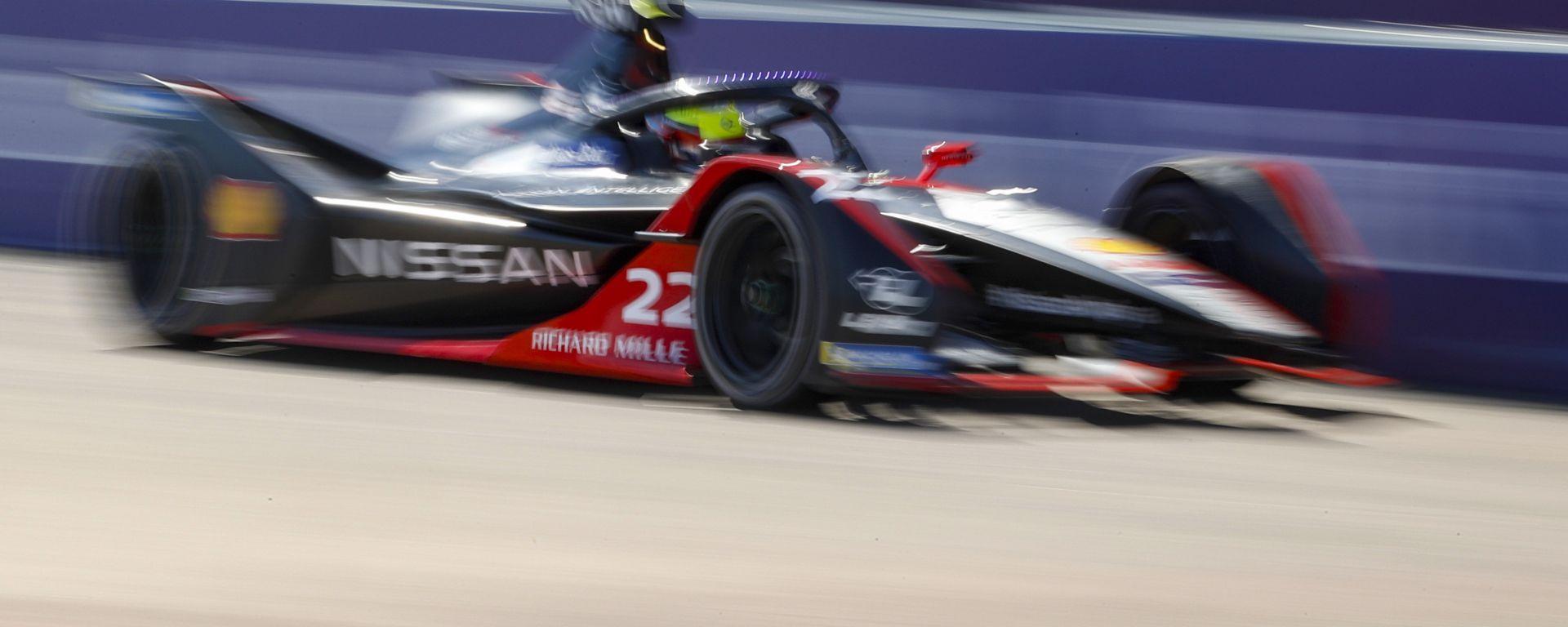 Formula E ePrix Berlino-5 2020: Oliver Rowland (Nissan) è il poleman