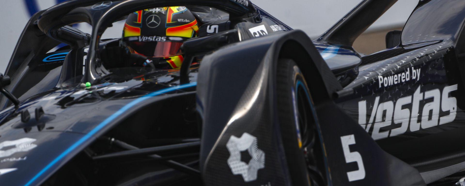 Formula E ePrix Berlino-6 2020: Stoffel Vandoorne (Mercedes)