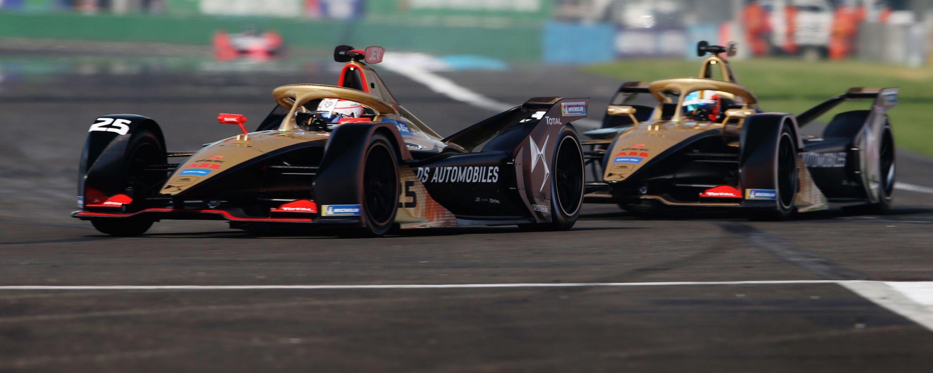 Formula E, ePrix Città del Messico 2020: le due Ds Techeetah in pista