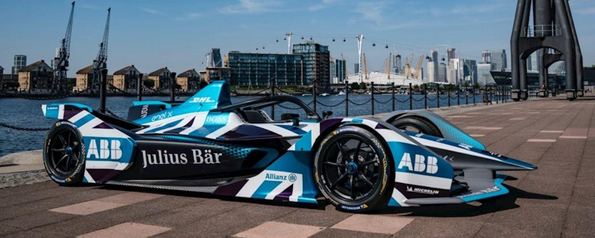 Formula E ePrix Londra 2021, ExCeL: la livrea speciale per l'ePrix di Londra