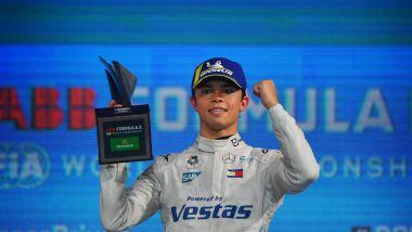 Formula E ePrix Londra 2021, ExCeL: Nyck De Vries (Mercedes) sul podio