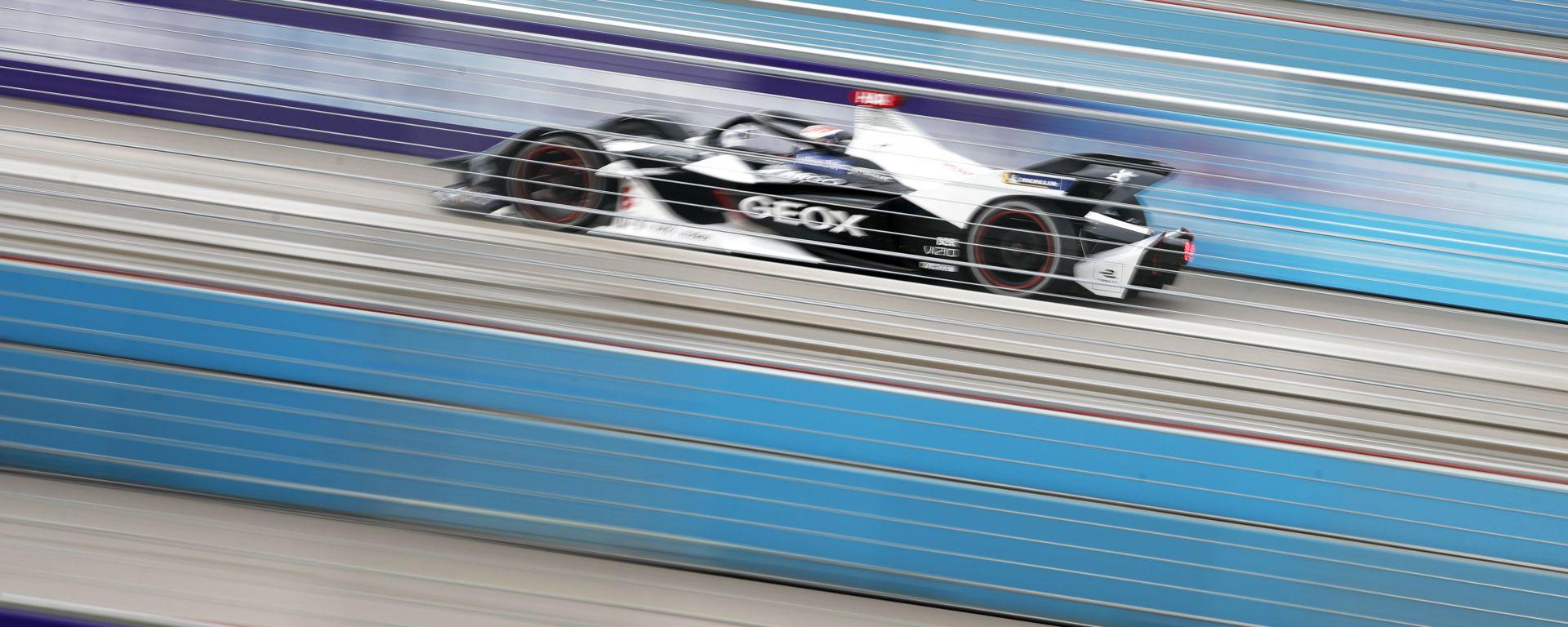 Formula E ePrix Marrakech 2019-2020: Brendon Hartley (Geox Dragon) in pista