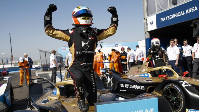 Formula E, ePrix Marrakech 2020: Antonio Felix Da Costa (DS Techeetah) è leader della classifica dopo il Round 5