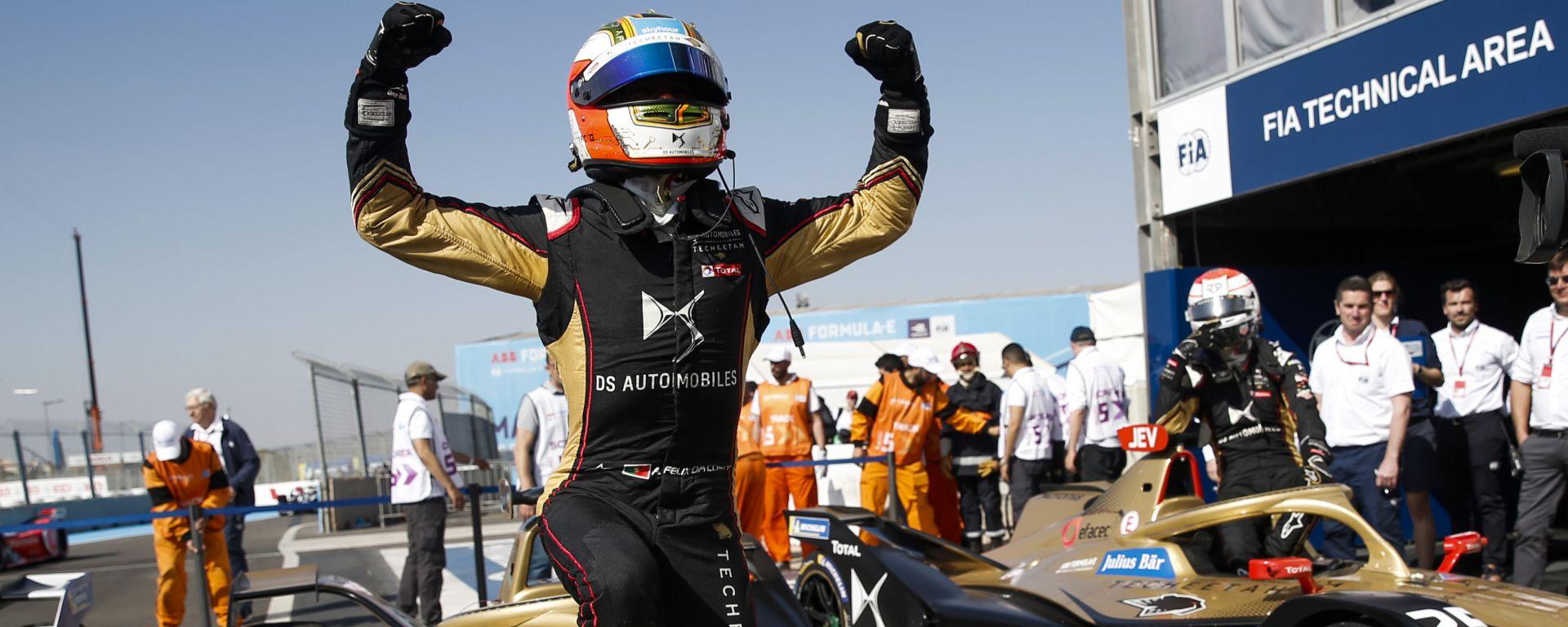 Formula E, ePrix Marrakech 2020: Antonio Felix Da Costa (DS Techeetah) è leader della classifica dopo il Round 5
