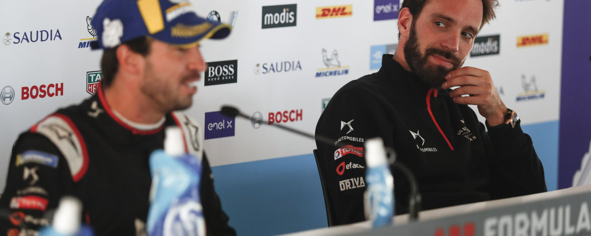 Formula E ePrix Marrakech 2020: Antonio Felix Da Costa e Jean-Eric Vergne (DS Techeetah)