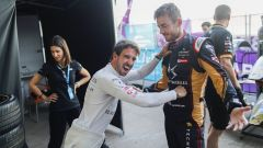 Formula E ePrix Marrakech 2020: Da Costa e Rossiter (DS Techeetah) scherzano nel box
