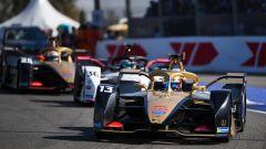 Formula E ePrix Marrakech 2020: Lotterer (Porsche) a sandwich tra i due DS Techeetah, Da Costa e Vergne