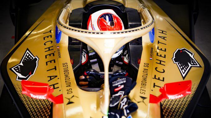 Formula E ePrix Marrakech 2020: Vergne nell'abitacolo della sua DS Techeetah