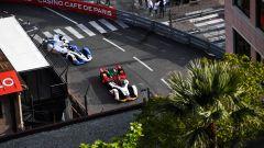 Formula E ePrix Monaco 2019, Monte Carlo: auto in pista alla Rascasse