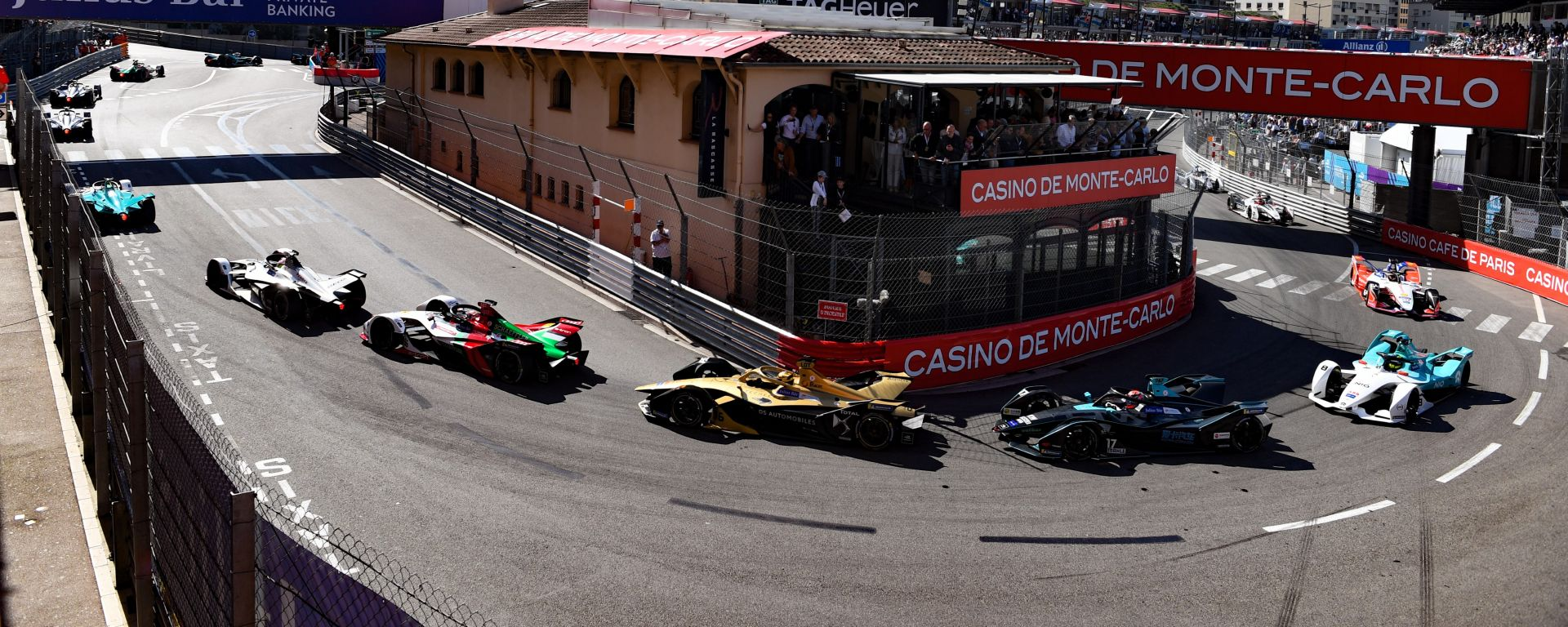 Formula E ePrix Monaco 2019, Monte Carlo: Il primo giro di gara