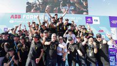 Formula E ePrix New York 2019, la festa di Vergne e Ds Techeetah