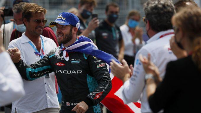 Formula E ePrix New York 2021, Brooklyn: Sam Bird (Jaguar Racing)
