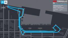 Formula E ePrix New York 2021: la mappa del circuito