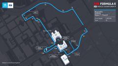 Formula E ePrix Roma 2021: la mappa del nuovo circuito dell'Eur