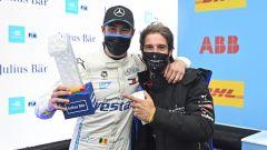 Formula E ePrix Valencia 2021: Stoffel Vandoorne (Mercedes) e Antonio Felix Da Costa (DS Techeetah)