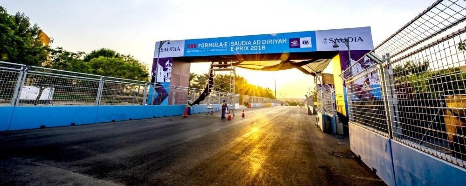 Formula E: facciamo un giro on board sul circuito Ad Diriyah
