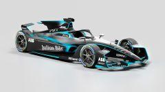 Formula E Gen2 Evo, vista 3/4 anteriore