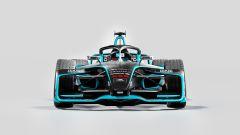 Formula E Gen2 Evo, vista anteriore