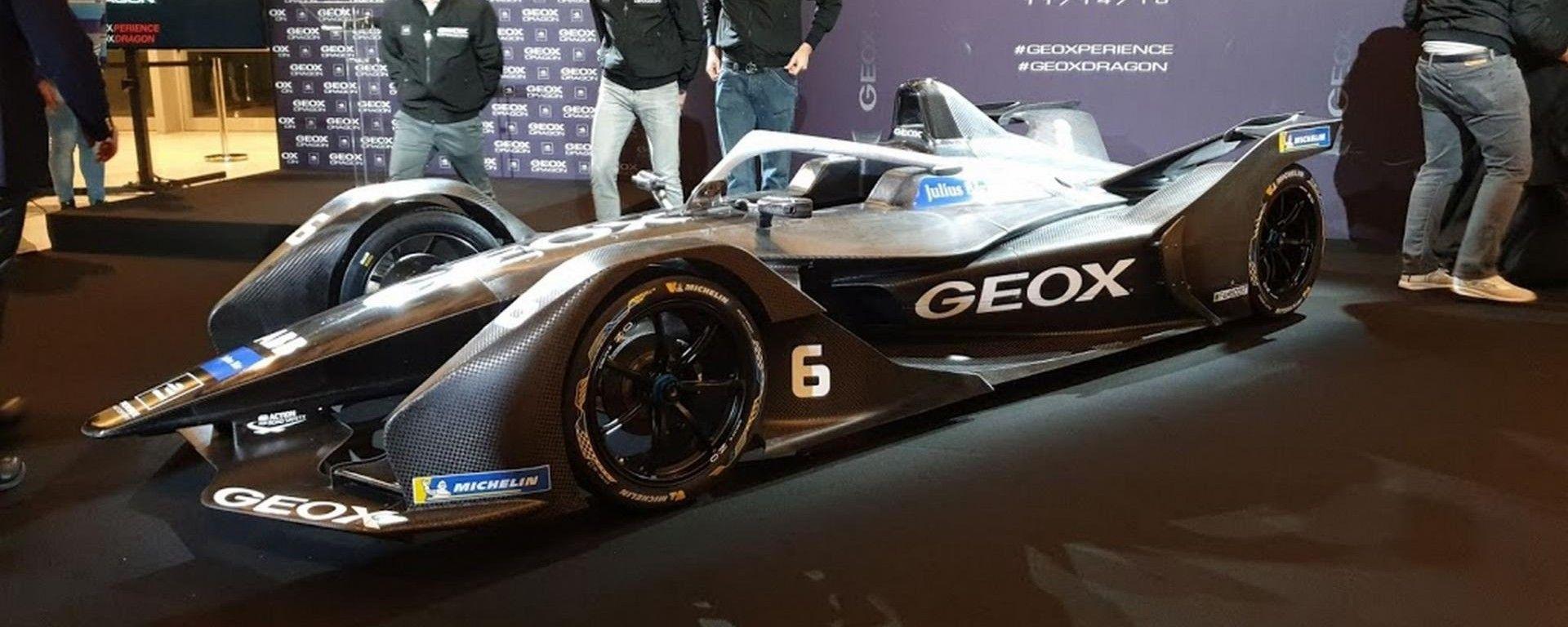 Formula E 2019: Geox Dragon Team