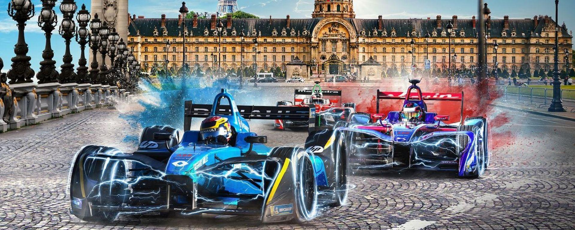 Formula E GP Parigi 2018, tutte le info: orari, risultati prove, qualifica, gara