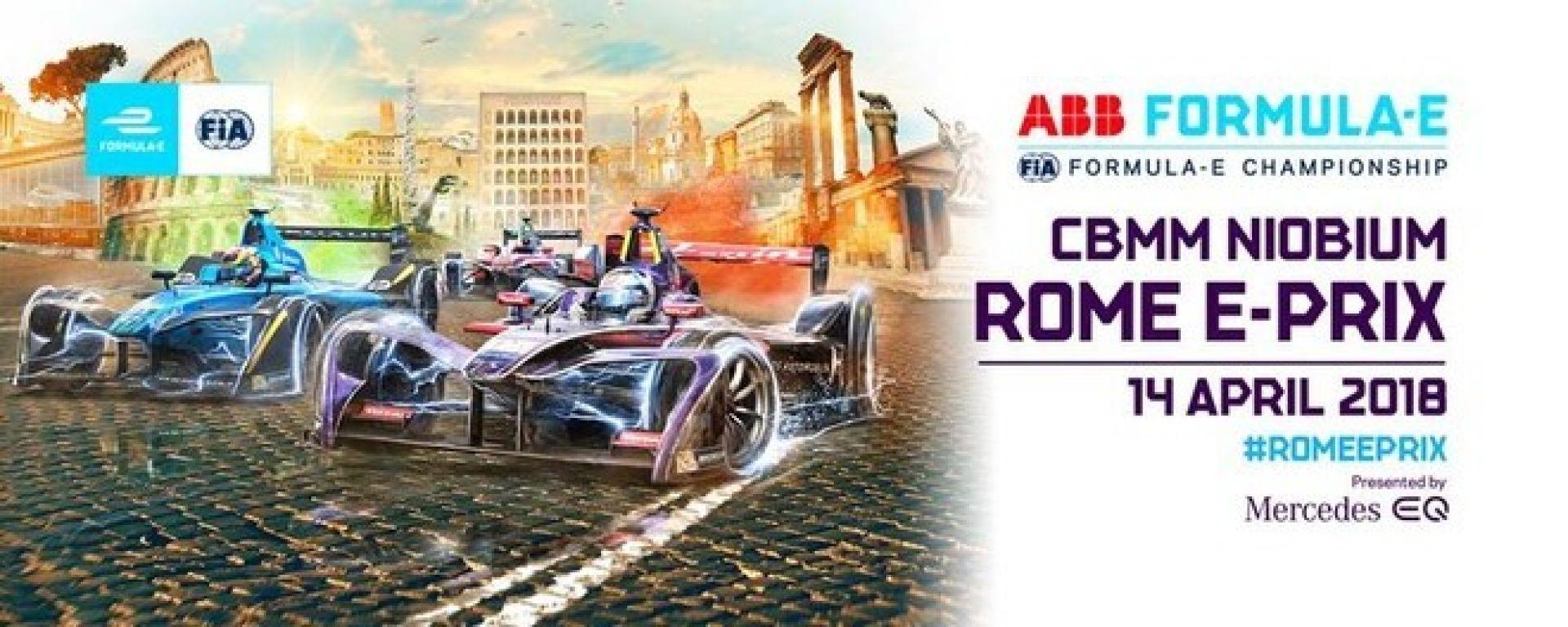 Formula E, GP Roma 2018: ecco gli orari TV