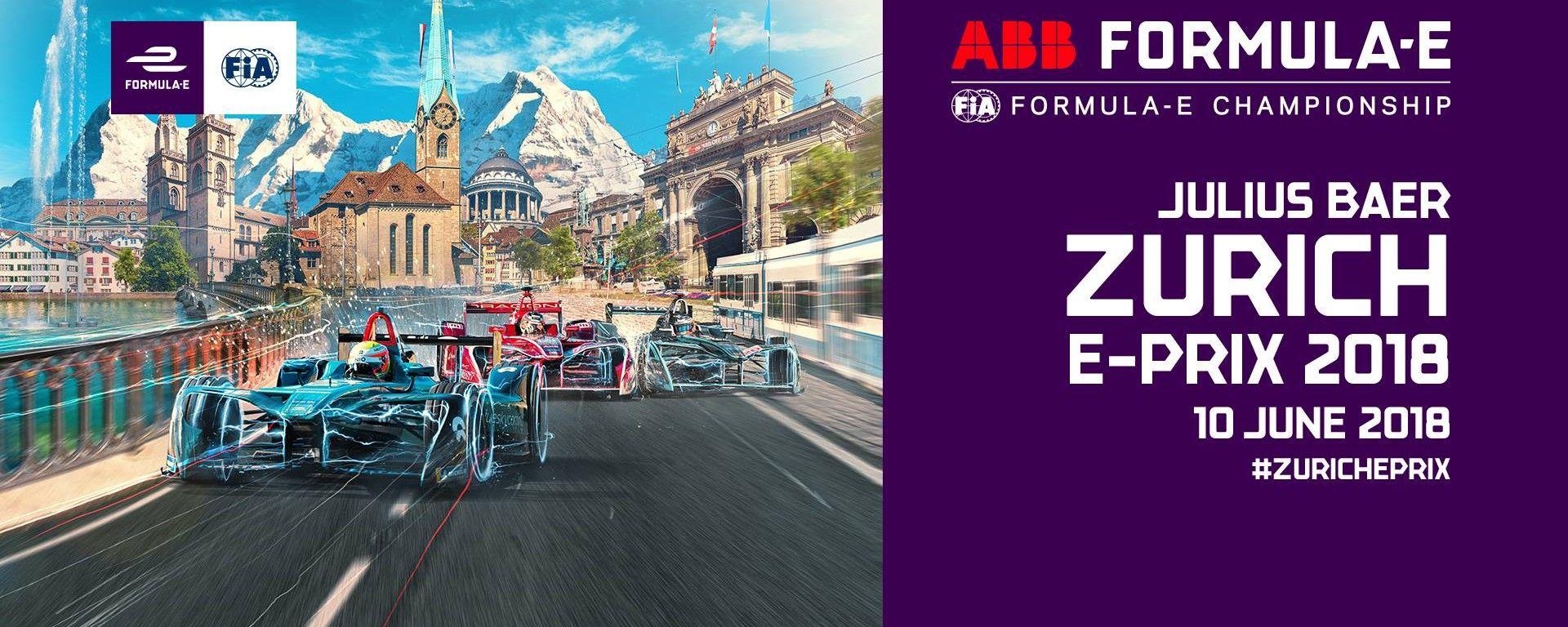 Formula E GP Zurigo Svizzera 2018, tutte le info: orari, risultati prove, qualifica, gara