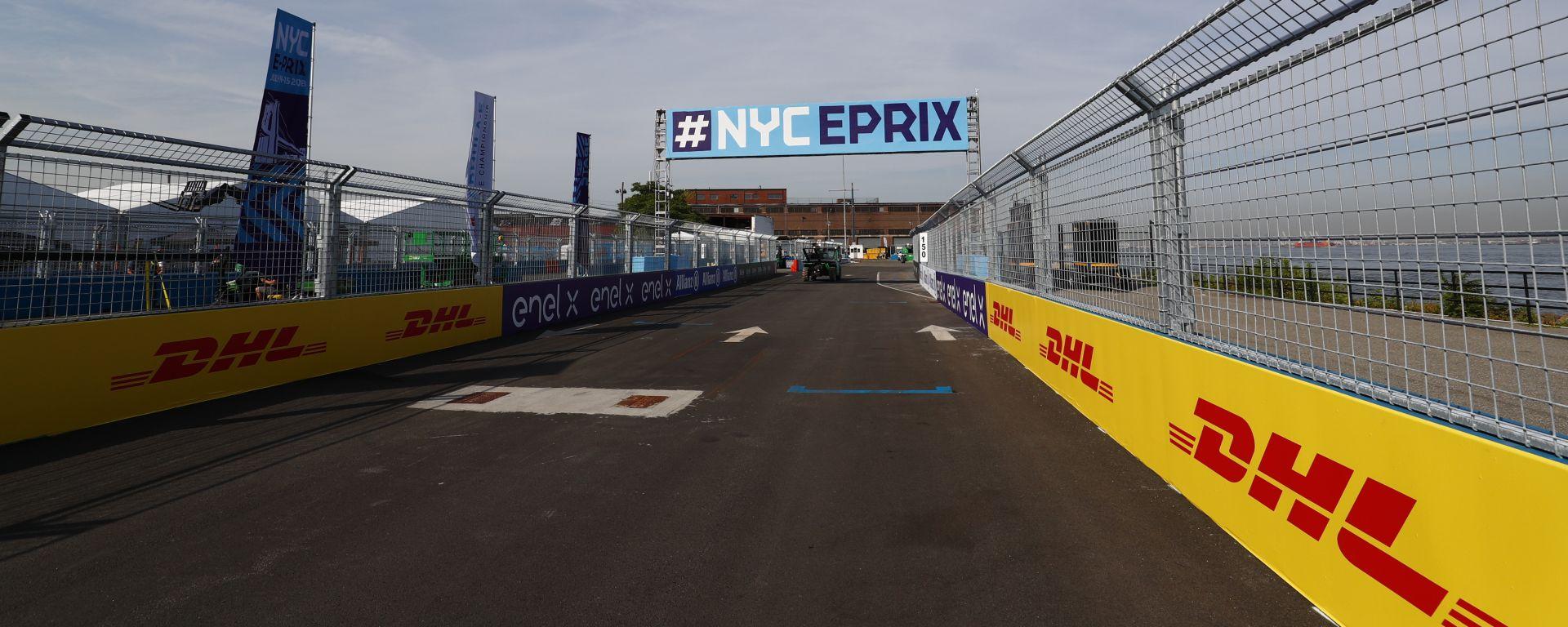 Formula E, il circuito dell'ePrix di New York 2019