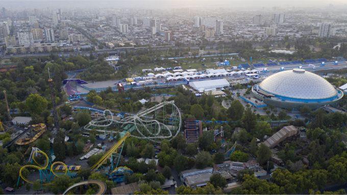 Formula E, il circuito dell'ePrix di Santiago visto dall'alto